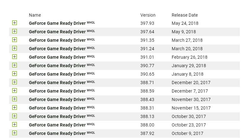 geforce game ready driver 390 65